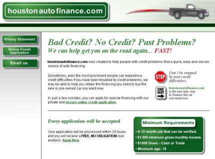 Houston Auto Financing