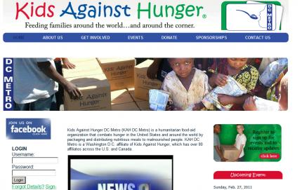 Kids Against Hunger - DC Metro